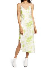 ALLSAINTS Melody Print Silk Blend Slipdress