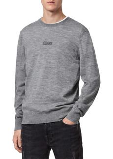 AllSaints Merino Wool Crewneck Sweater