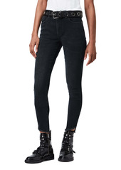 AllSaints Miller High Waist Skinny Jeans