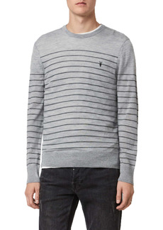 AllSaints Mode Stripe Merino Sweater