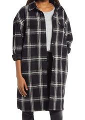 AllSaints Nia Mono Wool Blend Coat