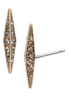 ALLSAINTS Pavé Point Stud Earrings