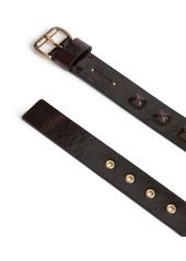 AllSaints Pyramid Stud Leather Belt