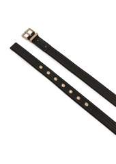 AllSaints Quilted Leather Belt