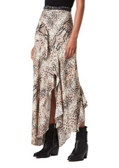 AllSaints Raya Arietta Animal Print Skirt