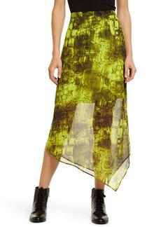 AllSaints Rhea Mirus Asymmetrical Skirt