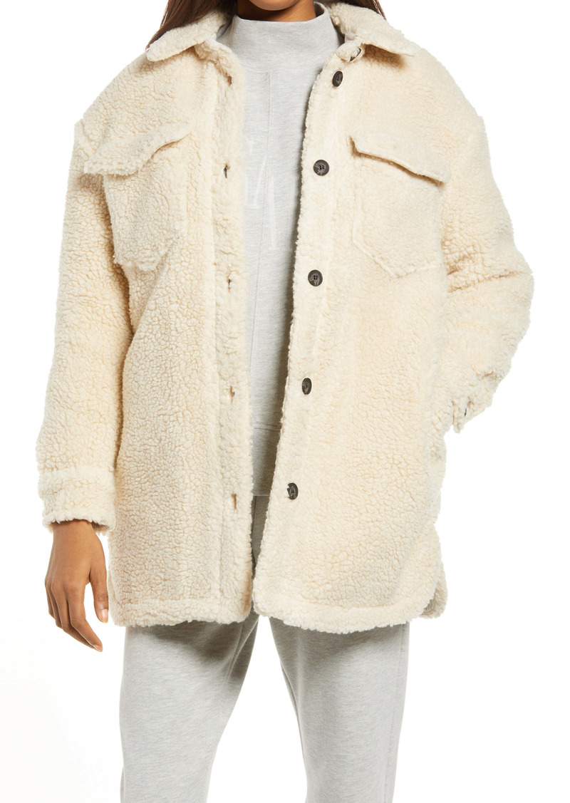 AllSaints Sophie Faux Shearling Jacket