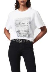 AllSaints SOS Boyfriend Graphic Tee