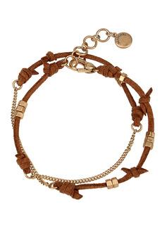 AllSaints Suede Wrap Bracelet