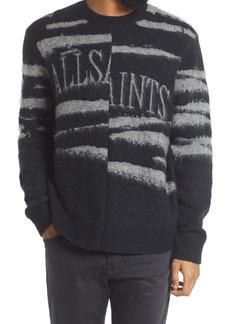 AllSaints Ture Saints Zebra Stripe Sweater