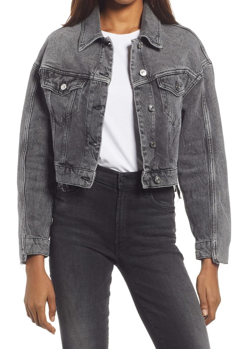 AllSaints Two-Tone Denim Jacket