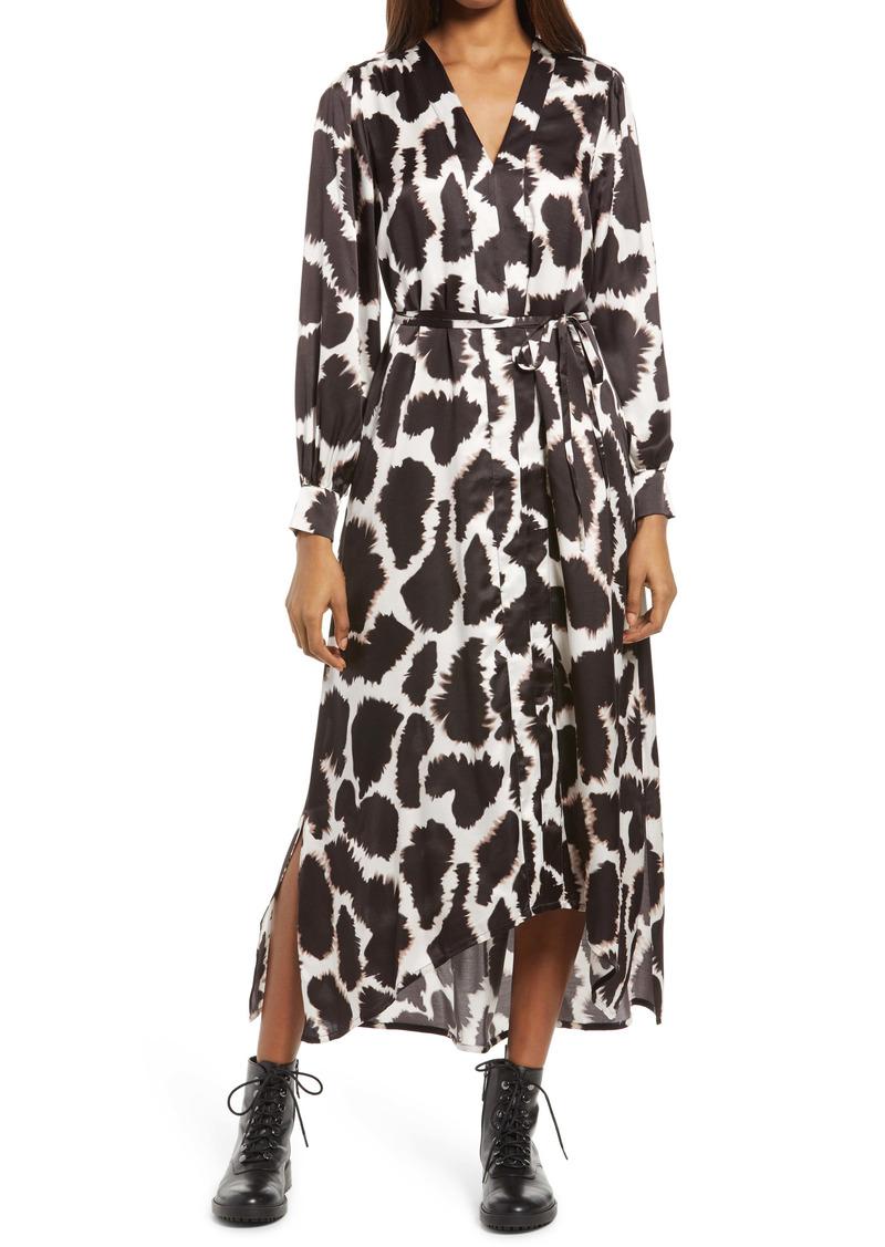 AllSaints Tyalla Tabula Long Sleeve Dress
