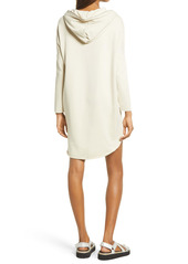 AllSaints Xonda Long Sleeve Cotton Hoodie Dress