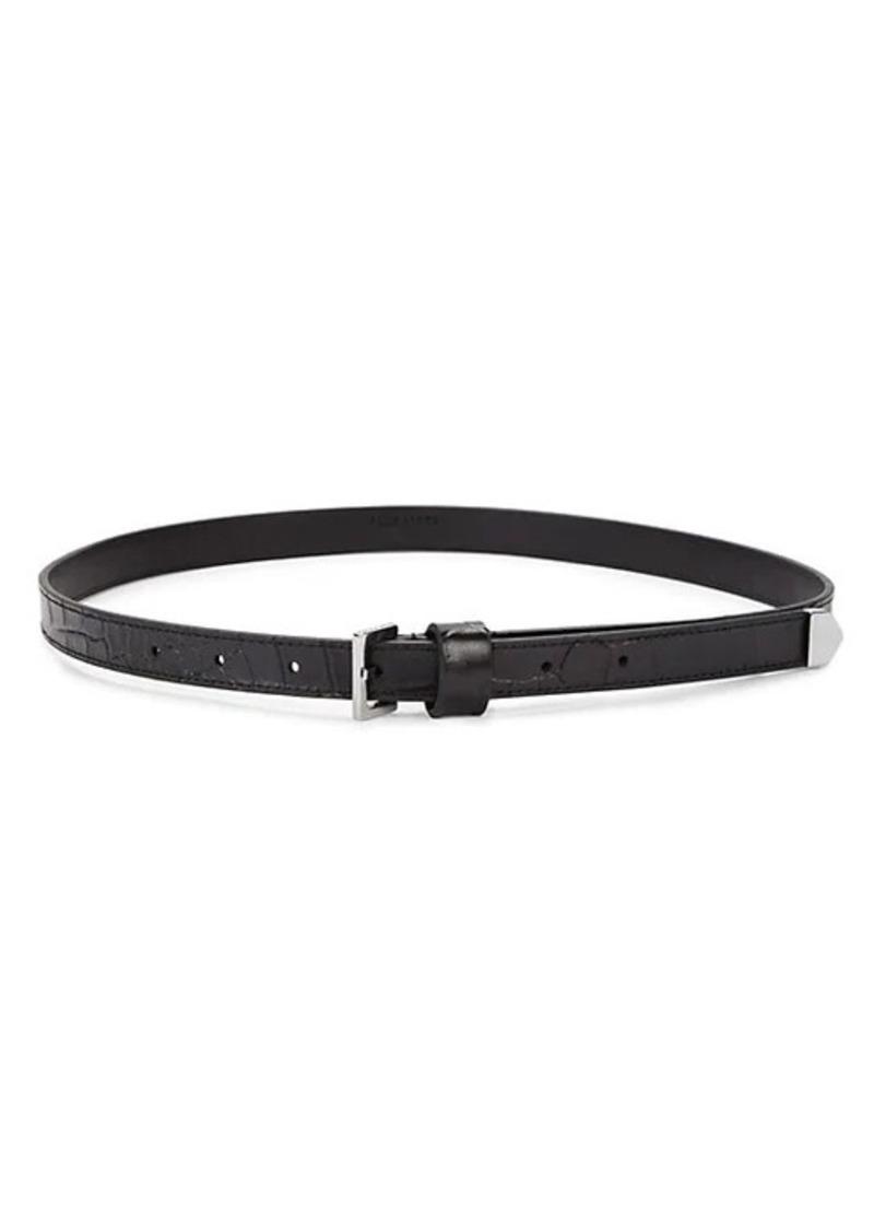 AllSaints Faux Leather Belt