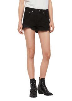 AllSaints Mai Destroyed Denim Shorts