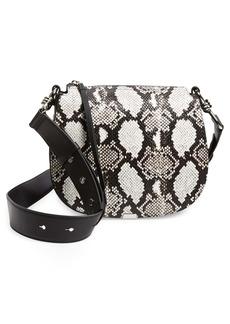 AllSaints Round Leather Crossbody Bag