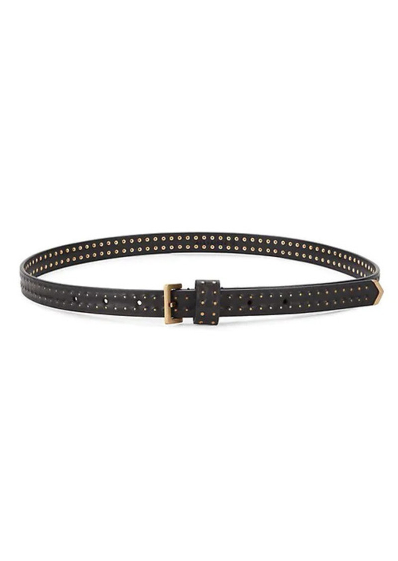AllSaints Studded Leather Belt