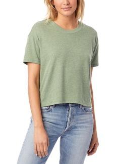 Alternative Apparel Headliner Vintage-Like Women's Jersey Cropped T-Shirt