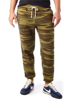 Alternative Apparel Men's Dodgeball Printed Eco-Fleece Pants