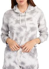 Alternative Apparel ALTERNATIVE Cropped Tie Dyed Hoodie