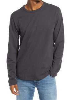 Alternative Apparel Alternative Long Sleeve Shirttail Cotton & Hemp Jersey T-Shirt