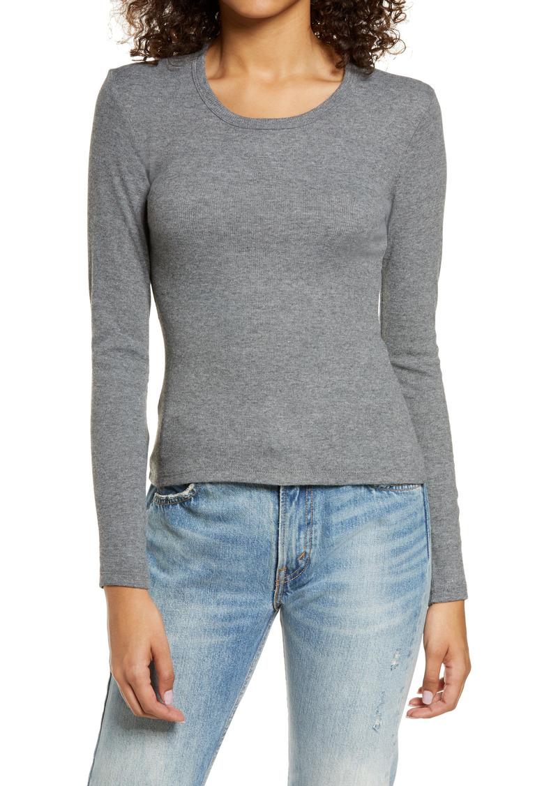 Alternative Apparel Alternative Mia Rib Long Sleeve T-Shirt