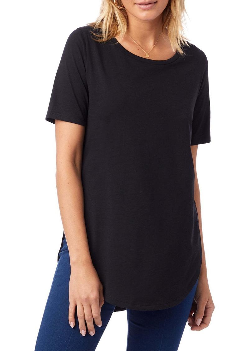 Alternative Apparel Alternative Organic Cotton Half Sleeve Tunic