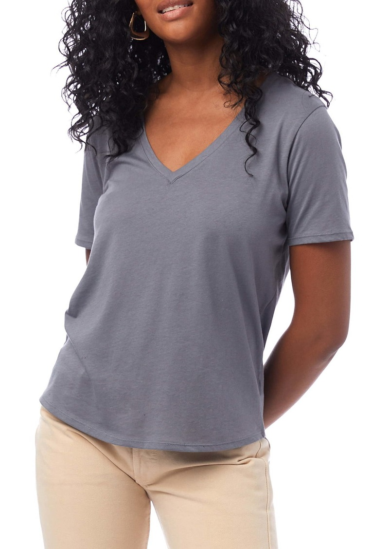 Alternative Apparel Alternative Organic Cotton V-Neck T-Shirt
