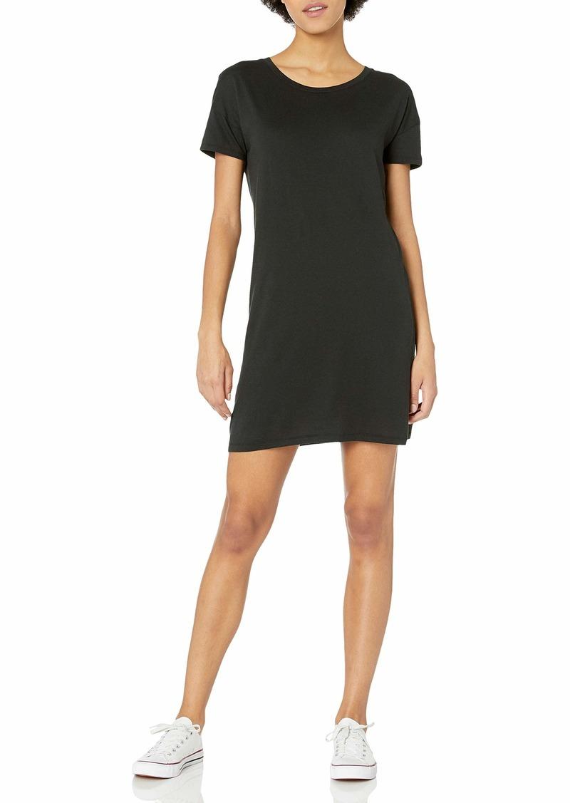 Alternative Apparel Alternative Women's Cotton Modal Short Sleeve Straight Up T-Shirt Dress  XL