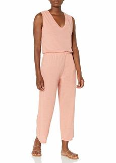 Alternative Apparel Alternative Women's Harper Sleeveless Cropped Jumpsuit  XS