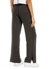 Alternative Apparel Alternative Women's Loopside Slit Hem French Terry Lounge Pants