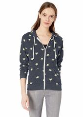 Alternative Apparel Alternative Women's Adrian Printed Eco-Fleece Zip Hoodie  X-Large