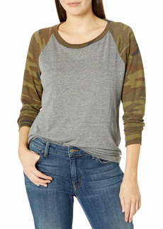 Alternative Apparel Alternative Women's Printed Slouchy Pullover