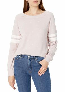 Alternative Apparel Alternative Women's Sleeve Stripe Lazy Day Pullover  S