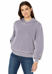 Alternative Apparel Alternative Women's The Claire Burnout French Terry Pullover Hoodie  Extra Large