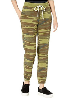 Alternative Apparel Classic Printed Eco-Fleece Jogger Pants