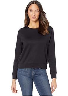 Alternative Apparel Cotton Modal Interlock Pullover Crew Neck Sweatshirt