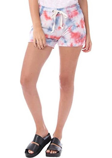 Alternative Apparel Cozy Tie-Dyed Lightweight French Terry Shorts