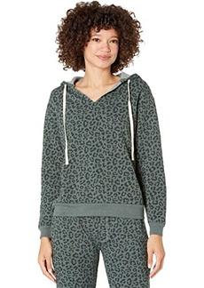 Alternative Apparel Eco Fleece Slashed Neck Pullover Hoodie