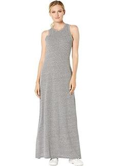 Alternative Apparel Eco-Jersey Side Slit Maxi Tank Dress