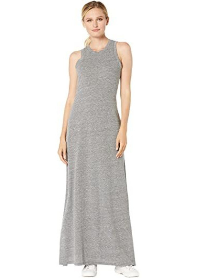 Alternative Apparel Eco-Jersey Side Slit Maxi Tank Dress