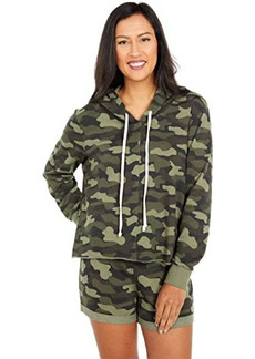 Alternative Apparel Lightweight French Terry Mash Up Hoodie