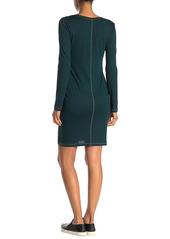 Alternative Apparel Scoop Neck Long Sleeve T-Shirt Dress