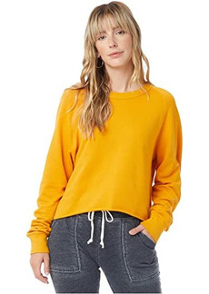 Alternative Apparel Washed Terry Boyfriend Pullover Sweatshirt