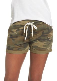 Alternative Apparel Women's Alternative Camo Lounge Shorts
