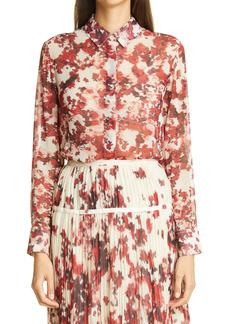Altuzarra Chicka Floral Georgette Shirt