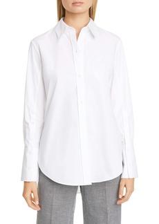 Altuzarra Cotton Poplin Button-Up Shirt