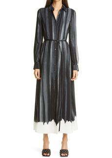Altuzarra Judina Long Sleeve Silk Shirtdress
