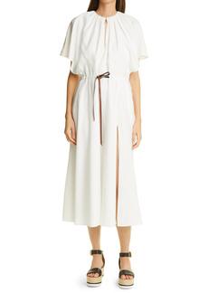 Altuzarra Romy Drawstring Midi Dress