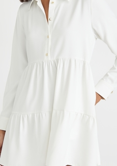 Amanda Uprichard Long Sleeve Pierre Dress